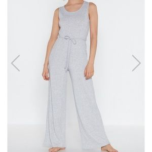 NEVER WORN Nasty gal casual cozy jumpsuit